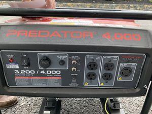 Brand new Predator 4,000 generator for Sale in Shrewsbury, MA