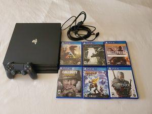 PS4 PRO BUNDLE Pack for Sale in Las Vegas, NV
