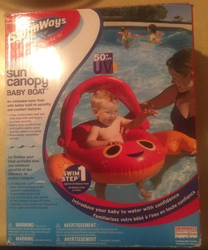 Sun canopy baby boat for Sale in San Antonio, TX