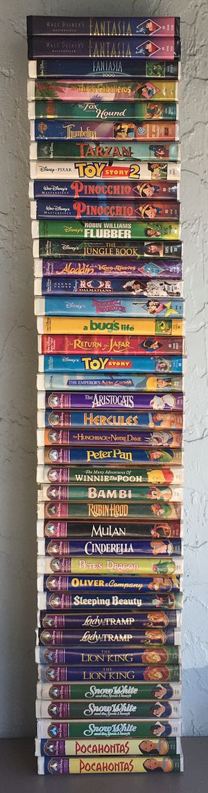 40 Disney VHS Movies for Sale in Pembroke Pines, FL