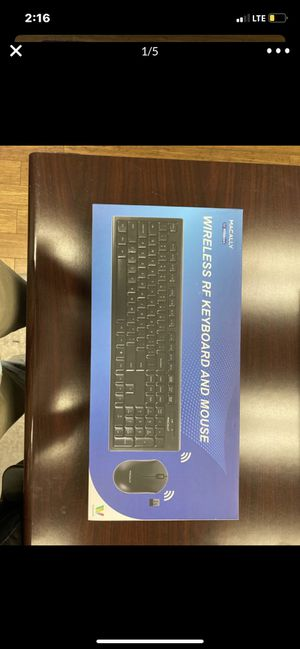 Macally wireless keyboard/mouse for Sale in Virginia Beach, VA
