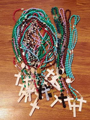 Lot of 30 Catholic Rosaries Rosary Beads for Sale in Dundalk, MD