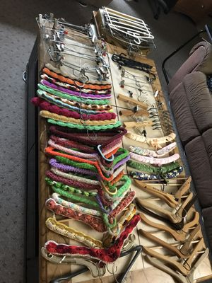 Lot of hangers to organize your closet . for Sale in Portland, OR