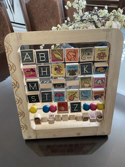 Kids Alphabet Wood Toy for Sale in Downey,  CA