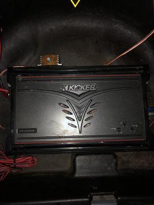 Kicker amplifier for Sale in Takoma Park, MD