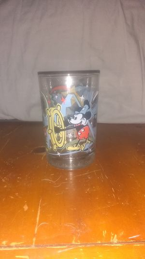 McDonald's collectable 100 year anniversary Disney glass cup for Sale in Louisville, KY