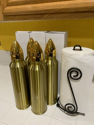 Cool Realistic Bullet Coffee Thermos-Large 33 oz. Perfect Gifts! for Sale in San Diego, CA