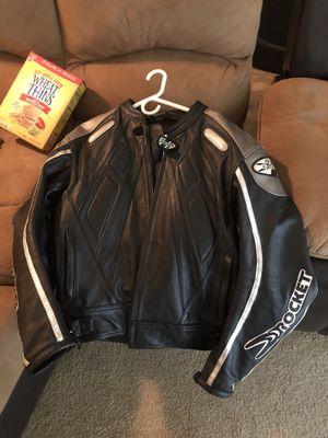 JOE ROCKET LEATHER MOTORCYCLE JACKET SIZE 46 for Sale in Chesterfield, VA