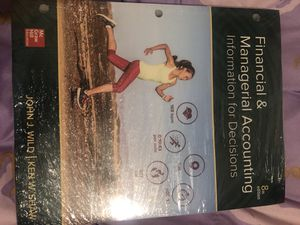 Financial & Managerial Accounting 8th edition for Sale in Nashville, TN