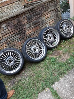 """20 inch """"5 lug"""" rims for Sale in FAIRMOUNT HGT, MD"""
