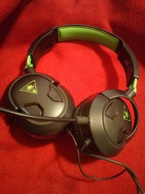 Xbox one headset Turtle beach ear force recon 50x for Sale in Shoreline, WA