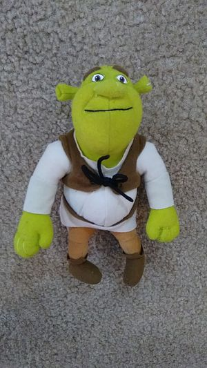 Shrek plush toy for Sale in Falls Church, VA