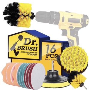 NEW! Drill Brush Power Scrubber Brush Cleaning Set 16PCS,Drill Scrub Brushes Kit with Long Attachment,Suitable for Bathroom surfaces, Tiles, Sinks, Ki for Sale in Stuart, FL