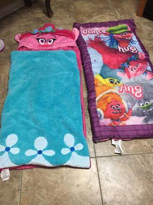 Trolls sleeping bags for Sale in Burleson, TX