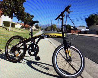 """New Folding Bike 20"""" 6 speed for Sale in Brea,  CA"""