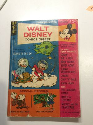 1968 Walt Disney Comics Digest for Sale in Seattle, WA