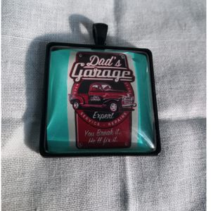 Funny dad keychain necklace for Sale in Tacoma, WA