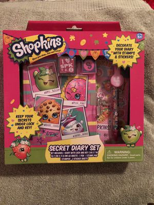 Shopkins Secret Diary Set for Sale in North Bethesda, MD
