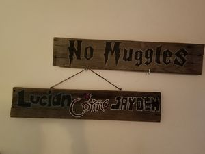Handmade Harry Potter and Custom Name wall decor for Sale in Portland, OR