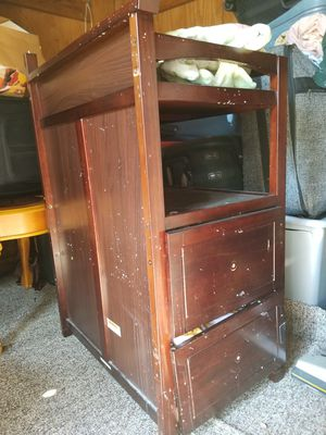 Convertible crib attached changer for Sale in High Point, NC