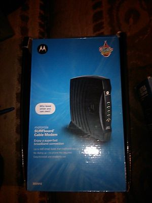 Motorola modem for Sale in Cleveland, OH