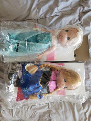 Disney Frozen Elsa and Anna Dolls for Sale in Clermont, FL