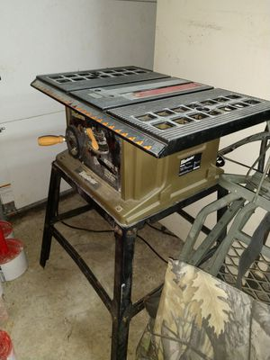 Table saw $100 obo or trade for Sale in Marion, IL