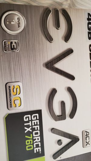 EVGA GeForce GTX 760 for Sale in Stockton, CA