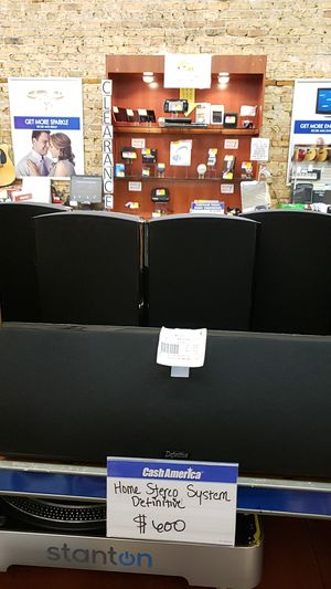 Definitive Home Stereo system for Sale in Chicago, IL