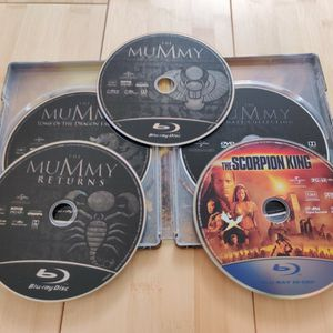 Blu-ray The Mummy Ultimate Collection Steelbook (Unused) for Sale in Phoenix, AZ