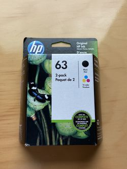 HP Ink 63 2 Pack for Sale in Monroe Township,  NJ