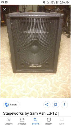 Stageworks speaker pair for Sale in Woodbridge, VA