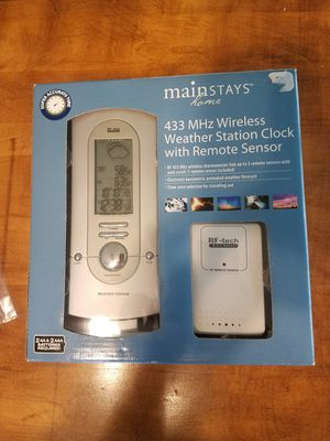 Mainstays Weather Station for Sale in Morgantown, WV