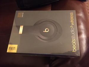 Beats by Dr. Dre Studio3 Headband Wireless Headphones - Shadow gray for Sale in Brooklyn, NY