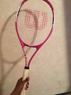 Pink tennis racket for Sale in Indianapolis, IN