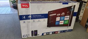 """65"""" TCL 4k UHD Smart HDR LED Tv for Sale in Chula Vista, CA"""