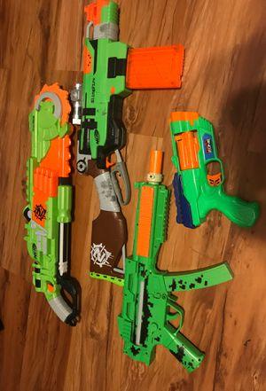 Random Nerf Guns Look at description for Sale in Norman, OK