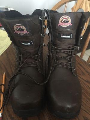 Steel toe work boots for Sale in Fraser, MI