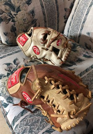 Professional baseball gloves for Sale in Fort Worth, TX