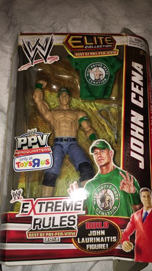 John Cena best of PPV extreme rules 2012 toys r us for Sale in Houston, TX