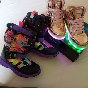 Sketchers Energy Lights. Stride Rite Makers Play snow boots. for Sale in Baltimore, MD