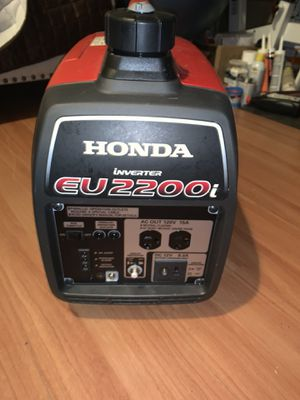 Honda generator eu 2200i for Sale in Germantown, MD