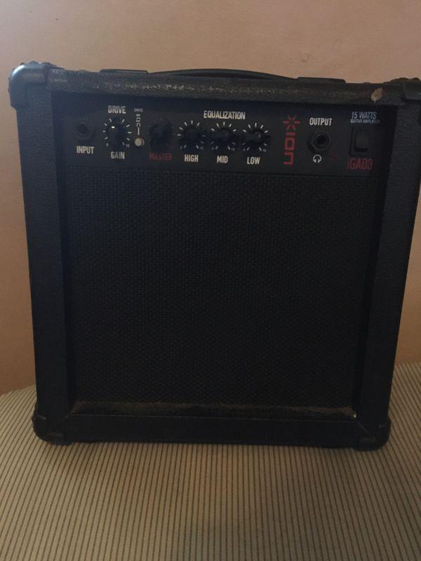 15 Watts Ion iGA03 Guitar Amplifier