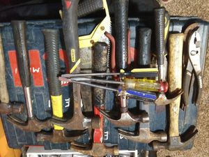 Hammers misc hand tools, tool boxs for Sale in Eugene, OR