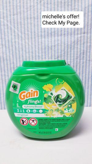 Gain flings 3in1 Original 42ct for Sale in Oxon Hill-Glassmanor, MD