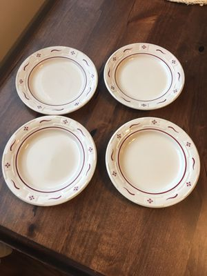Longaberger Set of 4 Bread Plates for Sale in Washington, DC