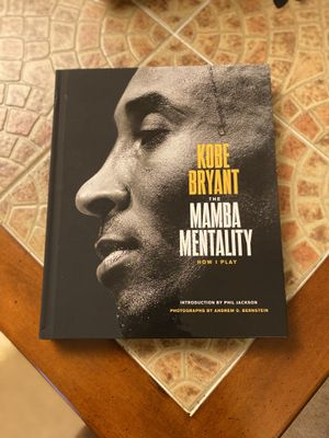 Kobe Bryant Mamba Mentality (Hard cover) Brand new for Sale in Virginia Beach, VA