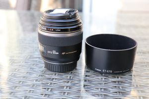 Canon EFS 60MM F2.8 Macro Lens for DSLR for Sale in HOFFMAN EST, IL