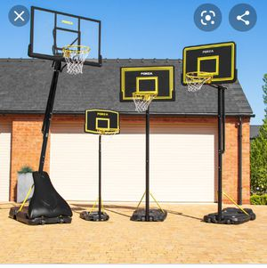 Basketball hoop the one on the left for Sale in Pico Rivera, CA