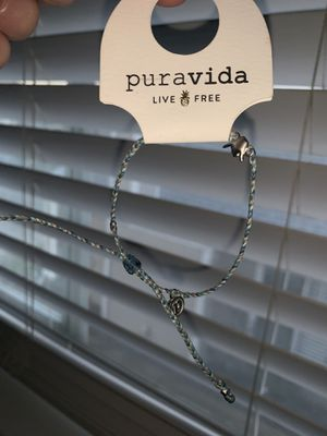 Pura vida bracelet with shaka charm for Sale in North Highlands, CA